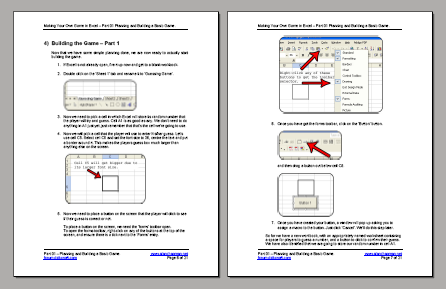 Tutorial pages