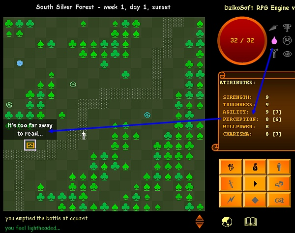 RPG.XLS Engine screenshot