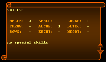 RPG.XLS 0.75a engine screenshot